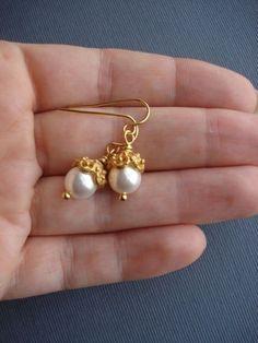 Real Silver Pearl Earrings because Pearl Earrings Cost minus Pearl And Ruby Earrings Gold Jewelry Pearl Stud Earrings, Pearl Studs, Pearl Jewelry, Gold Jewelry, Dangle Earrings, Diamond Earrings, Jewellery Box, Mens Jewellery, Jewellery Shops