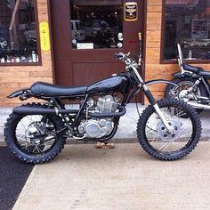 "Yamaha XT 500 - ""The Bastard"" - Pipeburn - Purveyors of Classic Motorcycles, Cafe Racers & Custom motorbikes Xt 600 Scrambler, Scrambler Custom, Scrambler Motorcycle, Sr 500, Cool Motorcycles, Vintage Motorcycles, Style Cafe Racer, Moped Bike, Cafe Racing"