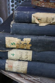 Old Belgian Ledgers