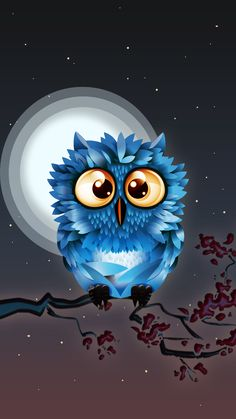 Cartoon Owl Drawing, Cute Owl Drawing, Cartoon Birds, Cartoon Art, Cute Owls Wallpaper, Owl Artwork, Whimsical Owl, Owl Tattoo Design, Cute Paintings