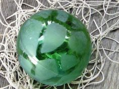 Image detail for -FREE Ship AUTHENTIC GLASS BALL FISHING FLOAT Floats Fish Net Buoy Bouy ...