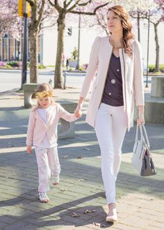 Mommy and me spring outfits Arrow and Lace — Blog