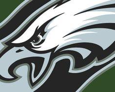 Philadelphia Eagles Football  Giclee Print by RubinoFineArt, $18.00