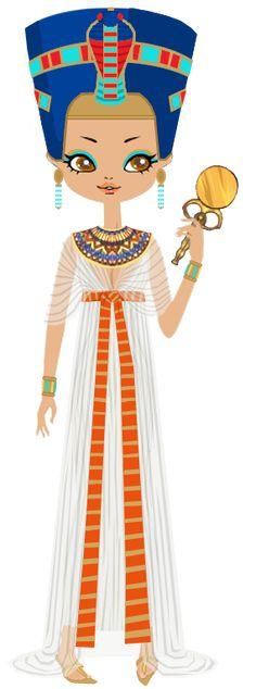 Queen Nefertiti by ~marasop on deviantART
