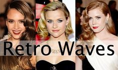 Looking for a chic and fresh hairstyle this season? Then go retro with these 20's inspired waves. Perfect for every length, you can class up a bob or show off your long locks. Either way, you will look perfectly pulled together and gorgeous!
