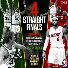 Boston Celtics & Miami Heat