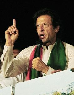 British aid money is being used to line the pockets of corrupt foreign politicians, warns former Pakistani cricket star Imran Khan