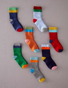 Just Ordered These For The Boys! So Much Fun! *7 Pack Sock Box: Accessories at Boden