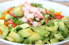 """Some meals are just meant to be eaten underneath a bright blue sky with the hot summer sun shining down, and in our opinion, Shrimp """"Grok-amole"""" is one of them. Cold, plump shrimp doused liberally in lime juice and tossed with juicy red tomatoes, crunchy orange pepper, spicy jalapeño and as many avocados as you […]"""