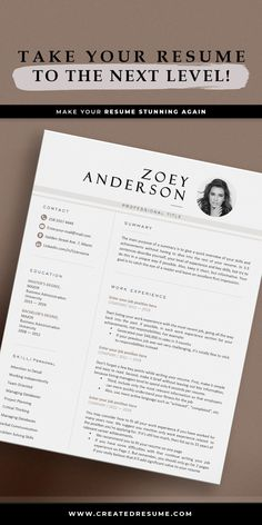 Modern resume template that will help to get the job of your dreams faster! Easy to customize on Word and Apple Pages. Designed by an experienced CreatedResume team these resume templates will catch an eye and help you outstand from the others. #resume #resumetemplate #modernresume #resumeformat #resumedesign #resumetips #createdresume #cv #cvtemplatepeople Basic Resume, Professional Resume, Modern Resume Template, Resume Templates, Curriculum Vitae Template, Microsoft Word 2007, Good Resume Examples, Resume Format, Cover Letter Template