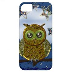 Cool Metal Owl iPhone 5 case #iphone #iphone5 #zazzle
