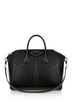 Givenchy Medium Antigona bag in black leather | NET-A-PORTER
