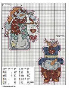схемы вышивки на Пластиковой Канве | 91 fotek