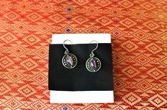 Tradícionális indonéz ezüst fülbevaló ametiszt kővel Drop Earrings, Beautiful, Jewelry, Jewellery Making, Jewerly, Jewelery, Drop Earring, Jewels, Jewlery