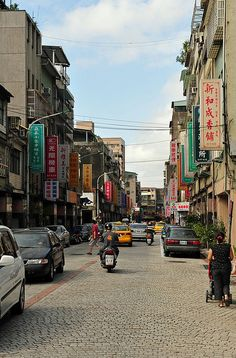 Taipei, Taiwan- watch out for cars...pedestrians do not have the right-of-way :/