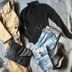 """101 """"Μου αρέσει!"""", 1 σχόλια - styliciouss Life (@styliciousslife) στο Instagram: """"Night out outfit✔ . Clothes & shoes : @zara Bag : @primark Earrings : @accessorizegreece .…"""""""
