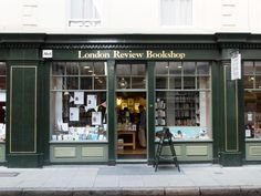 London Review Bookshop, 14 Bury Place, London, WC1A 2JL. | 14 Beautiful Independent Bookshops In London