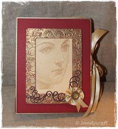 Sandy-Craft: Ribbon-Stick-Album - wieder einmal ....