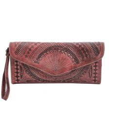 Moroccan Leather Clutch Handbags Antique Roses Boutique