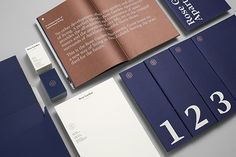 Studio South - Rose Garden brochure and stationery Graphisches Design, Book Design, Layout Design, Print Design, Design Ideas, Flyer Design, Editorial Layout, Editorial Design, Corporate Design