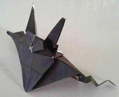 Pipistrello - origami fatti a mano  Bat _ origami handmade