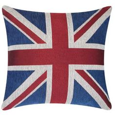 I would love to British up my room with this Union Jack pillow. #DreamDormOCM