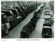 VW T2 production line