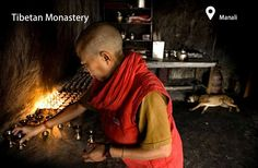 Ever wondered what goes on inside those tucked-away Himalayan monasteries? As you might imagine, not much. But photographer Kaushal Parihk was drawn to that simplicity. Tibetan Buddhism, What Goes On, Holiday Packages, Himalayan, Life, Journey, Faith, Culture, Cook