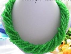 9 Strands 20 Inches 4Mm Natural Green Jade Round Beads Necklace Aa+