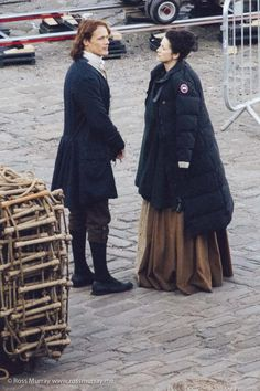 Behind the scenes with Sam and Cait filming season 2.