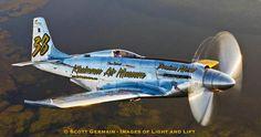 Precious Metal P-51 w/Griffin