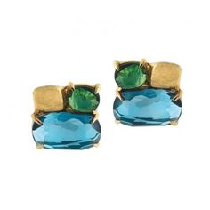 Marco Bicego 18kt Yellow Gold Gemstone Earring
