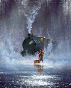 Jeff Rowland http://www.steampunktendencies.com/post/85215813254/ #Painting #Romance