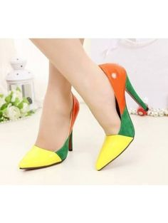 2dfe85bf1d3 New Woman Sweety Sexy Bowtie Pumps Female Pointed Toe High Heels Ladies  candy color Red Bottom Shoes