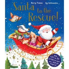 Booktopia has Santa to the Rescue! by Barry Timms. Buy a discounted Paperback of Santa to the Rescue! Childrens Christmas Books, Childrens Books, Its Christmas Eve, Christmas Ornaments, Book People, Book Nooks, Mistletoe, Mini Books, Snuggles