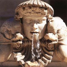 Fountain of the Moor - detail by Gian Lorenzo Bernini, 1653-1654