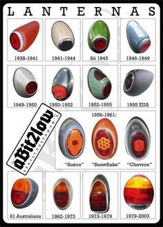 VW Fusca - História da lanterna