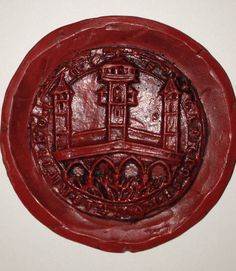 Ratisbon, Seal of the Bridge Masters Board About 1250