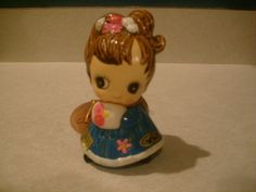 "Josef Original ""Moppet"" doll - January with stickers. $6.00, via Etsy."