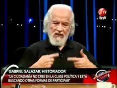 Historiador Gabriel Salazar en Tolerancia Cero.(1)