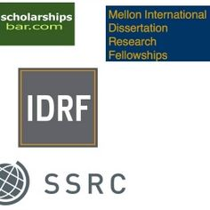 Mellon International Dissertation Research Fellowships (IDRF) , and applications are submitted tillNOVEMBER 7TH2017. SSRC and IDRF are funding International Dissertation Research Fellowships for graduate students regardless of citizenship enrolled in PhD programs in the USA. The program invites proposals for dissertation research conducted, in whole or in part, outside the United States on non-US topics.Please note that the required minimum research outside the United States is dependent…