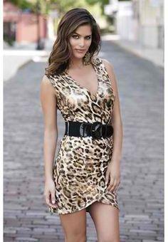 Belted Cheetah Print