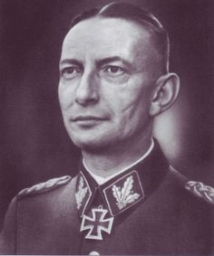 Caption: SS-Gruppenführer Heinz Reinefarth. After the outbreak of the Warsaw Uprising, Reinefarth was ordered to organise a military unit consisting of personnel from various security units and head for Warsaw. Upon arrival, his forces (Kampfgruppe Reinefarth) were included in the Korpsgruppe von dem Bach of General Erich von dem Bach who was ordered by Heinrich Himmler to quell the rebellion.