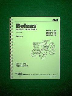 bolens tractor manual