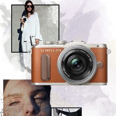 Olympus Pen E-PL8 Body Only - Brown Searching for inspiration? Make the new OLYMPUS PEN E-PL8 your personal muse. In a stylish shade of brown and other classy colours, this digital camera is going to be the IT Piece of the year!