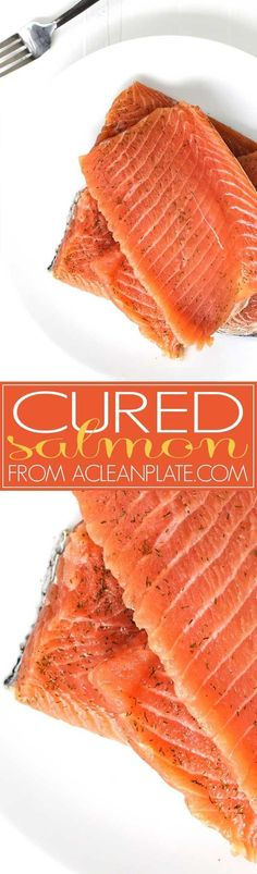 ICYMI: This recipe for Cured Salmon uses only 5 ingredients and is easier to make than you might think.
