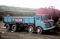 foden tippers - Google Search Old Lorries, Heavy Duty Trucks, Commercial Vehicle, Vintage Trucks, Classic Trucks, Wales, Tractors, Britain, Construction