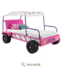 Twin S Buggy Bed Powell Furniture 193 038 Jeep Modern Kids Beds