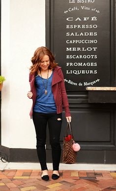 fall and winter style - cute outfit idea