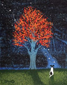 Abstract+Dog+Art | Smooth Fox Terrier Dog original abstract art painting by Todd Young ...